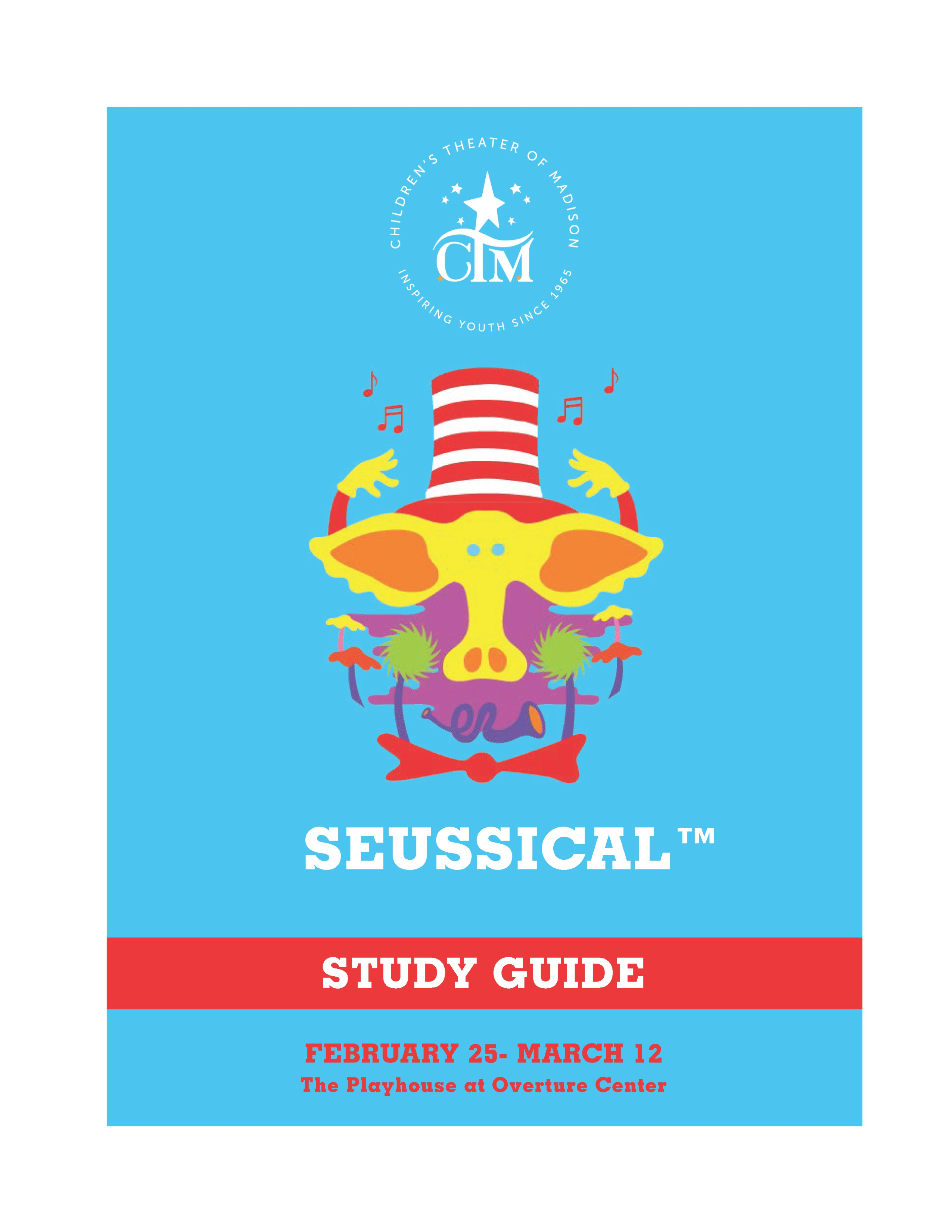 Seussical COVER page 0