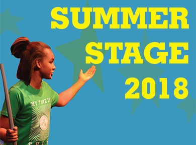 Register for Summer Stage Now!